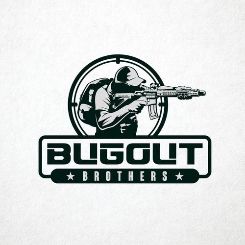 Commando logo with the title 'Firearms Company Logo'