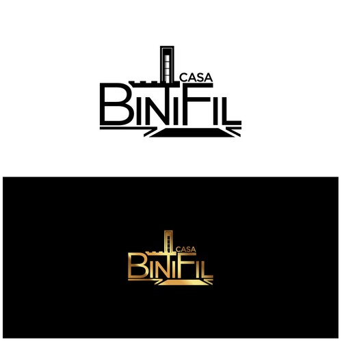 Villa logo with the title 'Casa BiniFil'