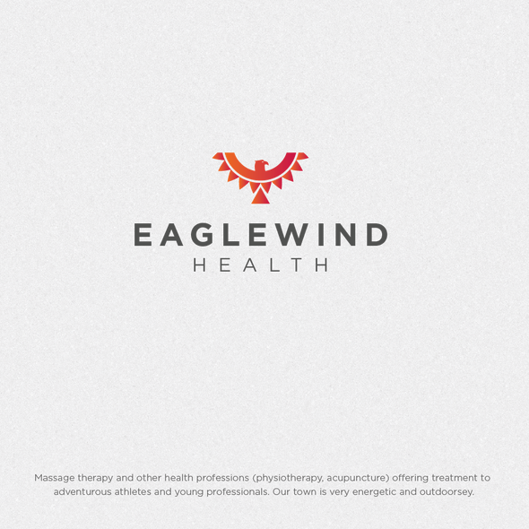 Tribal logo with the title 'Eaglewind Health'