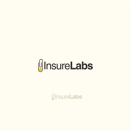 Laboratory logo with the title 'logo for insurelab'