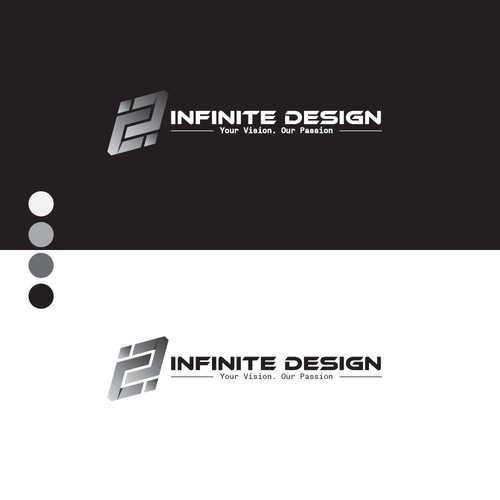 Infinity logo with the title 'Infinite Logo'