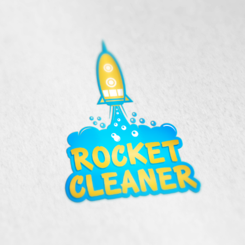 Attractive logo with the title 'rocket '