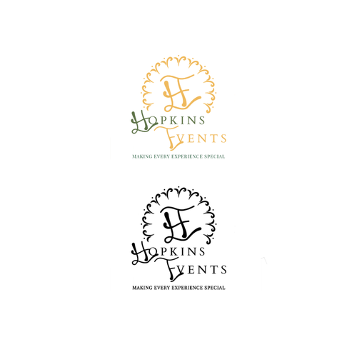 Event brand with the title 'Hopkins events'