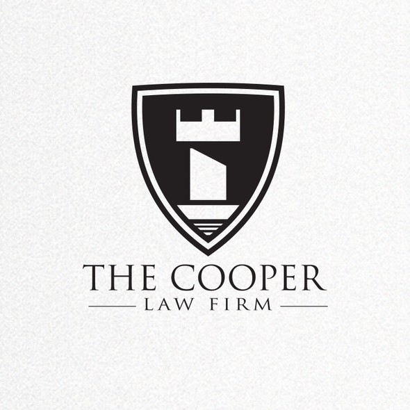 Chess logo with the title 'Old School 2.0: Create a potent logo for a substantial law firm.'