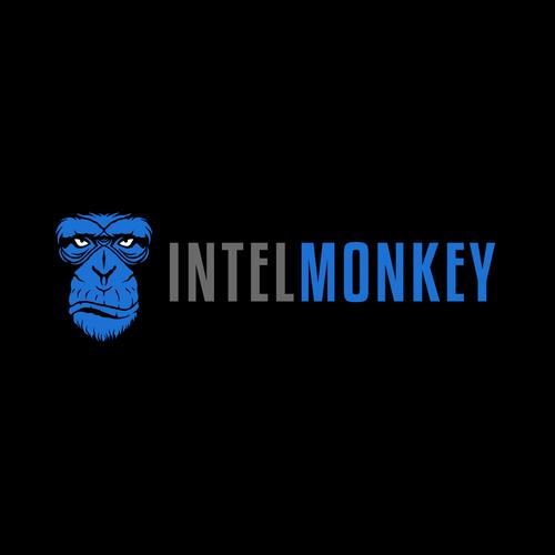 Chimp design with the title 'IntelMonkey'