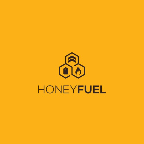 Ecommerce logo with the title 'Logo for HoneyFuel'