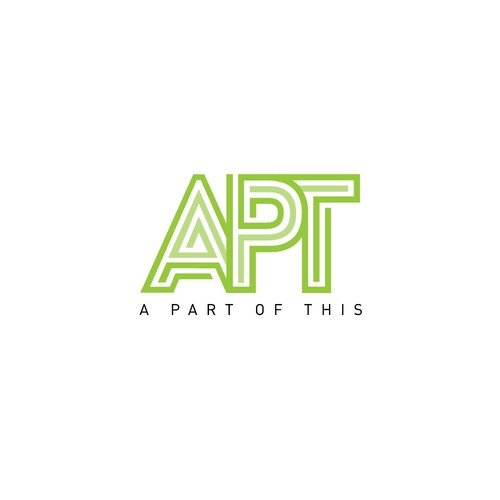 Home organizer logo with the title 'APT'