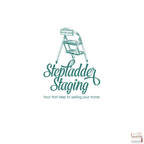 Staging logo with the title 'Logo for home staging and redesign business'