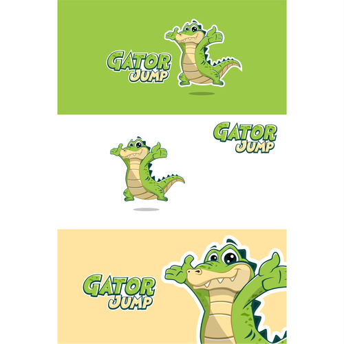 Gator design with the title 'Gator Jump'