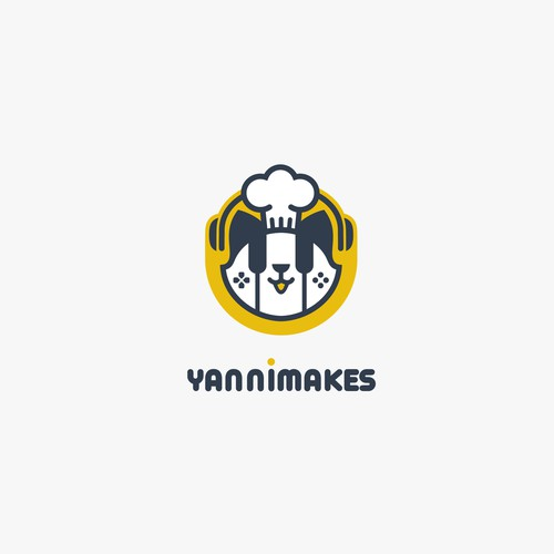 Video game logo with the title 'YanniMakes'