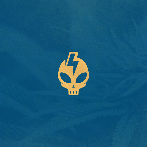 Alien design with the title 'CrippyX - Logo For Hawaiian Cannabis Seed line'