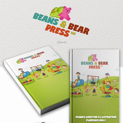 Publisher design with the title 'Beans & Bear Press LLC'