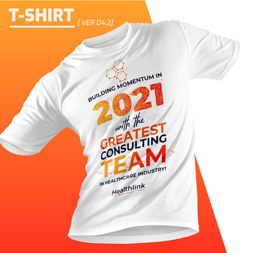 Health t-shirt with the title '2021 T shirt design for Healthlink Advisors'