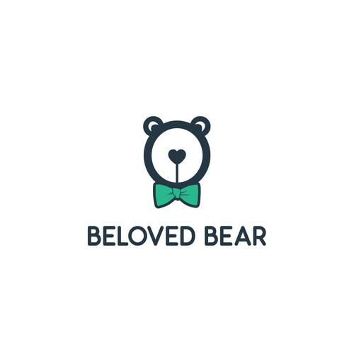 Teddy logo with the title 'Logo for handmade teddy bear crafting shop'