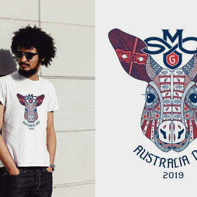 Australia Day t-shirt design