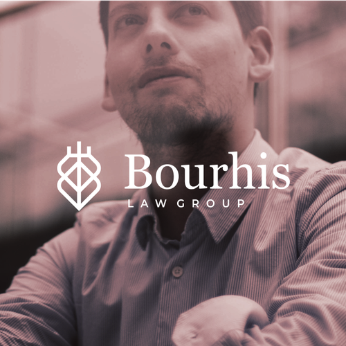 Criminal logo with the title 'Bourhis'