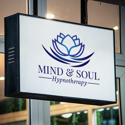 Ripple design with the title 'Logo concept for a hypnotheraphist'