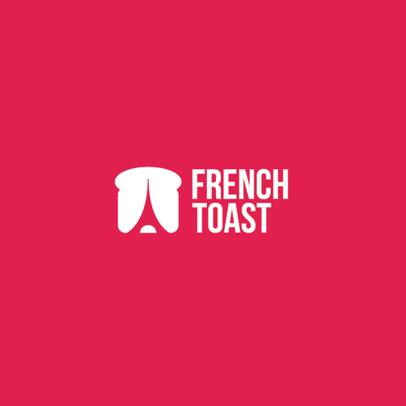 Toast logo with the title 'French Toast Logo'