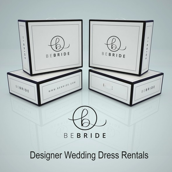 Subscription box packaging with the title 'Product Packaging for BEBRIDE'