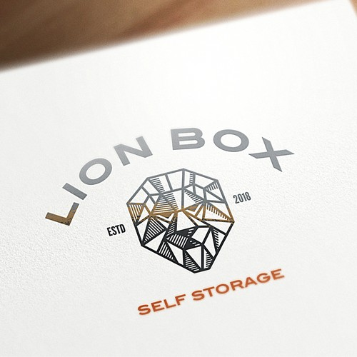 Lion brand with the title 'lion box'