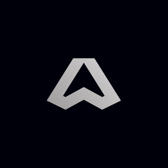 High-end logo with the title 'A high-end, abstract logo for a car dealership f'