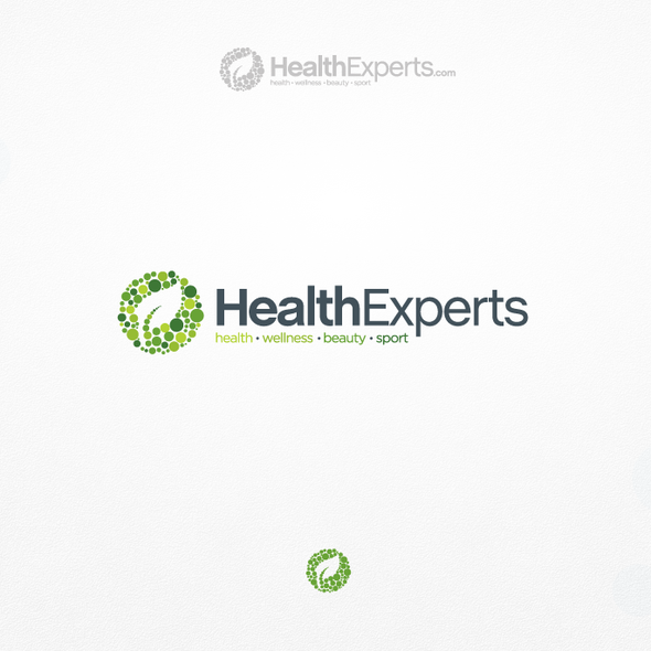 Pattern logo with the title 'Logo design for Health Experts'