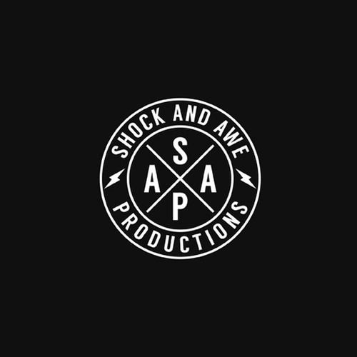 Streaming logo with the title 'Shock & Awe Productions'