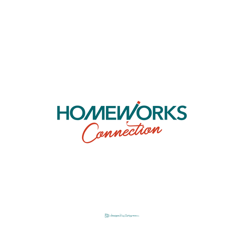 Wisdom design with the title 'Homeworks Connection.'