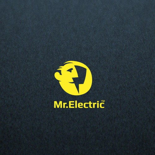 Bolt design with the title 'logo for Mr.Electric'