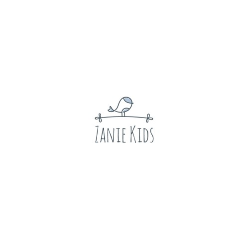 Toddler logo with the title 'Zanie Kids'