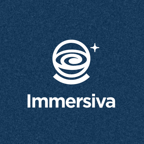 Galaxy design with the title 'Immersiva'