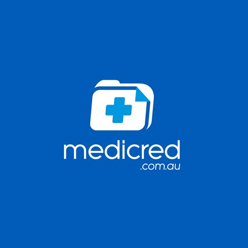 File design with the title 'medicred.com.au '