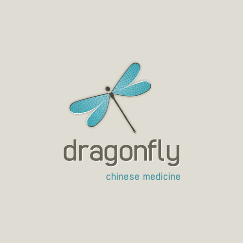 Dragonfly logo with the title 'Wanted: DRAGONFLY LOGO for Holistic Health Retreat & Products.'