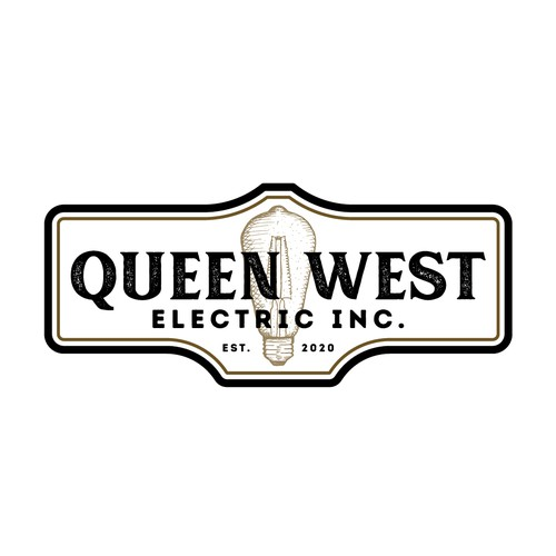 Residential logo with the title 'Queen West Electric Inc.'