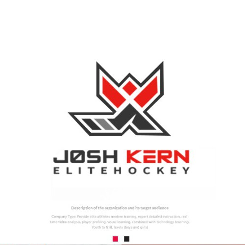 Minnesota logo with the title 'JK, HOCKEY, KERN,'