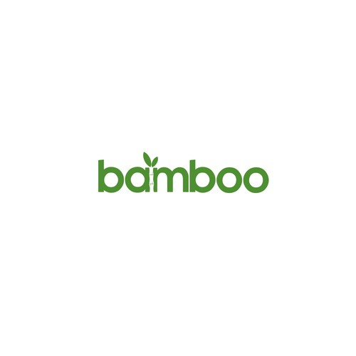 Bathroom logo with the title 'bamboo'