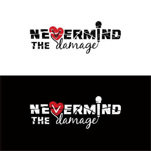 Hip hop logo with the title 'Nevermind The Damage'
