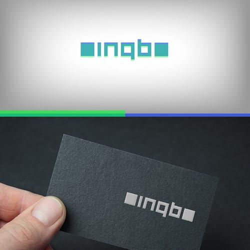 Incubator logo with the title 'Logo for inqb, a blockchain incubator company'