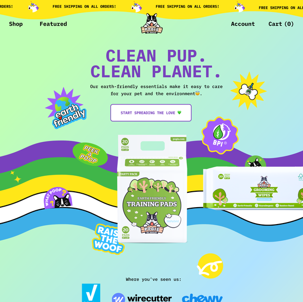 JQuery website with the title 'Pogi's'