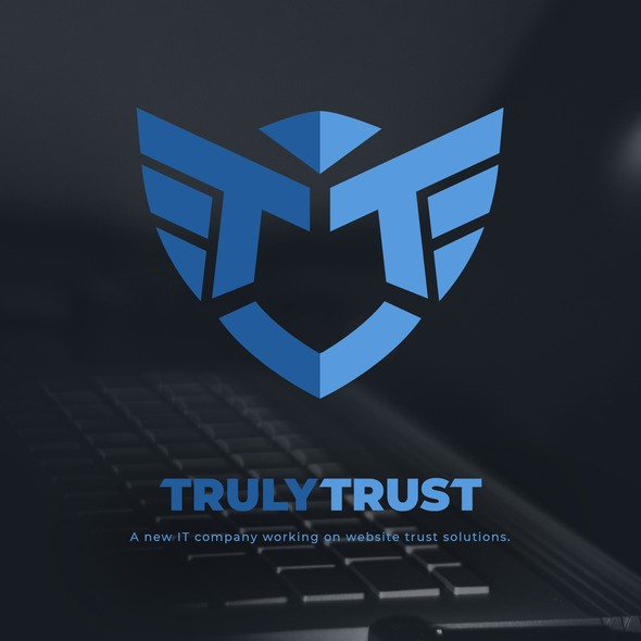 Eagle design with the title 'TrulyTrust'