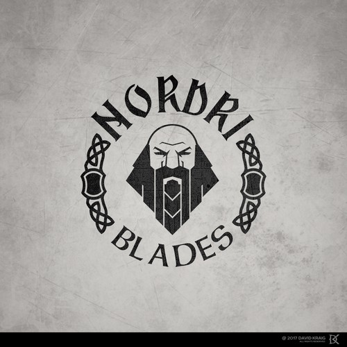 Celtic logo with the title 'NORDRI BLADES'