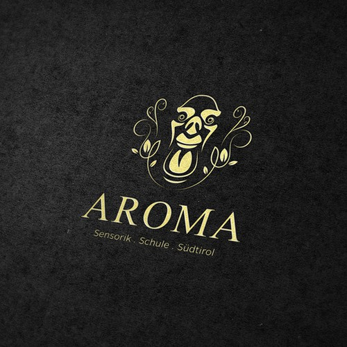 School brand with the title 'AROMA'