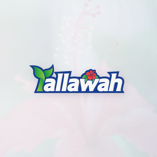 Hibiscus logo with the title 'Tallawah'