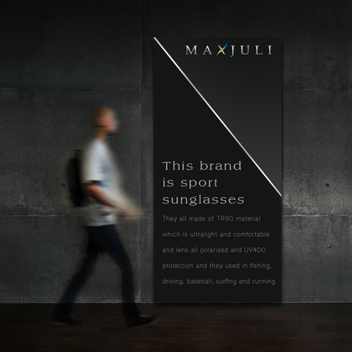 Great brand with the title 'Maxjuli'