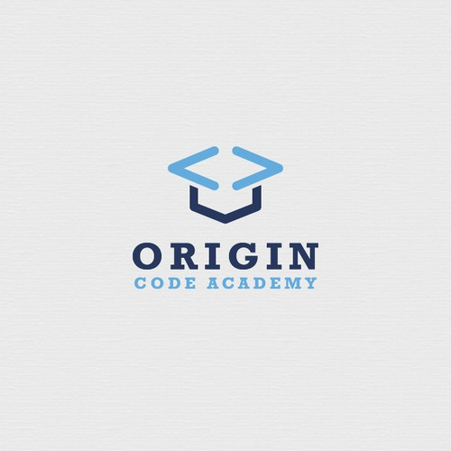 Coding logo with the title 'Code Academy'