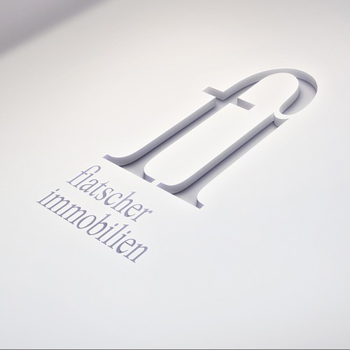 Corporate design logo with the title 'Logo for Immobilien-Sachverständigen (real-estate expert)'