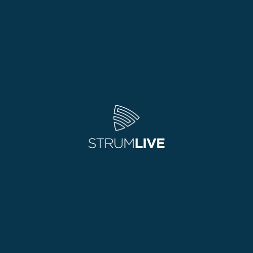 Stream design with the title 'Logo for StrumLive'