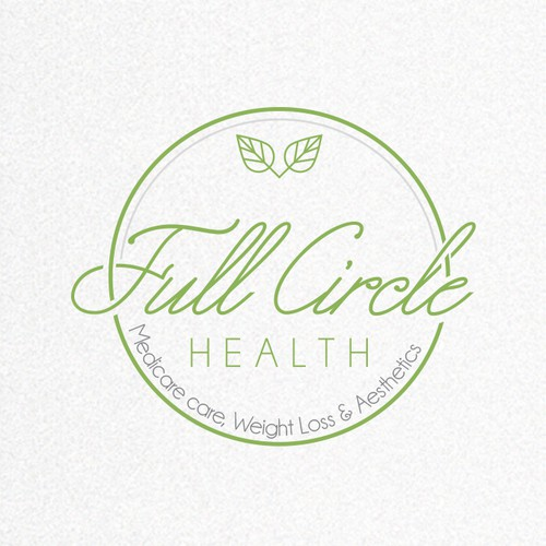 Organic logo with the title 'Minimal Health products logo'