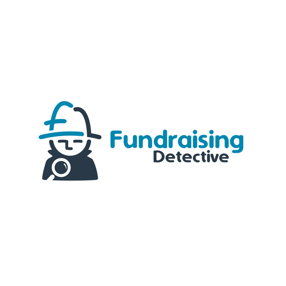 Detective logo with the title 'Fundraising Detective'