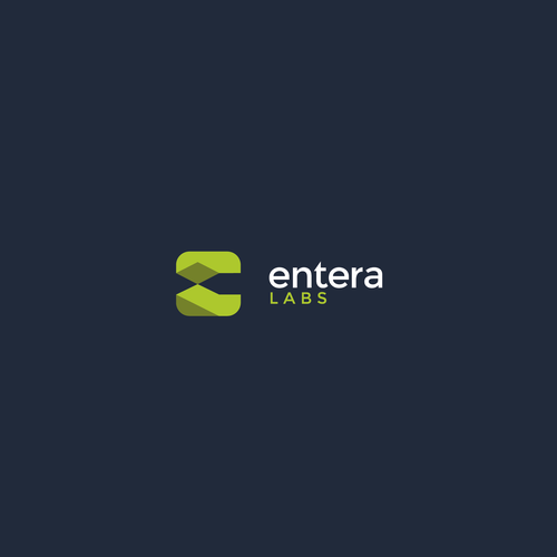 Liquid logo with the title 'Enteral Labs'